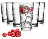 Tivoli Madrid Wassergläser - Set aus 6 - Hochwertige Gläser – Spülmaschinenfest –...