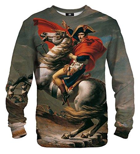 Mr. Gugu & Miss Go Herren Damen Bedrucktes Sweatshirt Napoleon (XL)