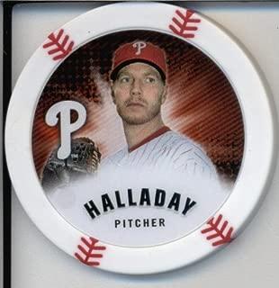2013 Topps Chipz Baseball Poker Chip - Roy Halladay