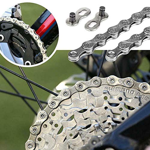 Best Buy! ZoeDul Bicycle Chain 116 Links 9/27 Speed MTB Mountain Bike Cycling Steel Chain Set
