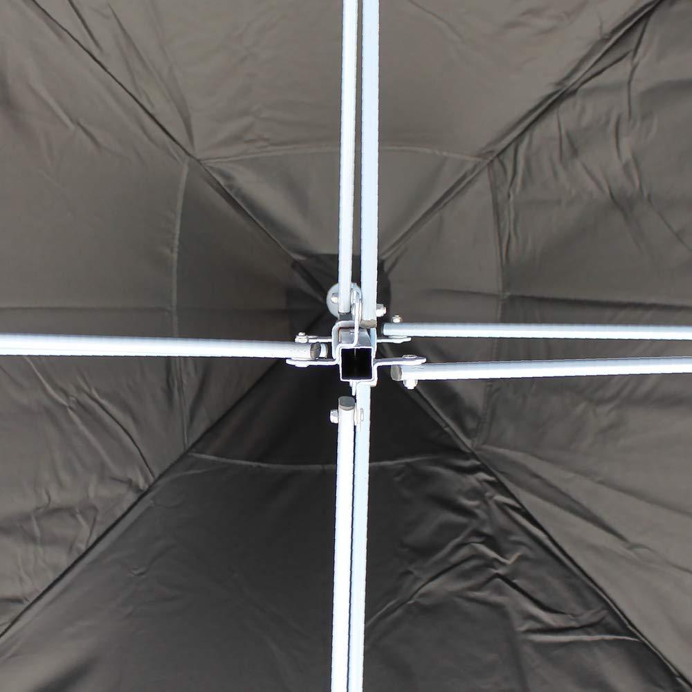 PrimeMatik - Carpa Plegable 300x300cm Tienda Negra: Amazon.es: Electrónica
