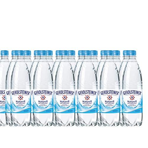 18 Flaschen Gerolsteiner Quelle Naturell Sprudel Mineralwasser ohne Kohlensäure a 1000ml in PET inc. 2.70€ Mehrweg Flasche