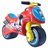 INJUSA - Moto Correpasillos Neox Mickey Mouse licenciada, recomendada a niños +18 meses, color rojo (19010/000)