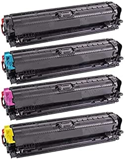 Toner Cartridge Compatible with Printer CP5220/5221dn/5221n/5223dn/5225dn,Replacement for 307A CE740A, CE741A, CE742A, CE7...