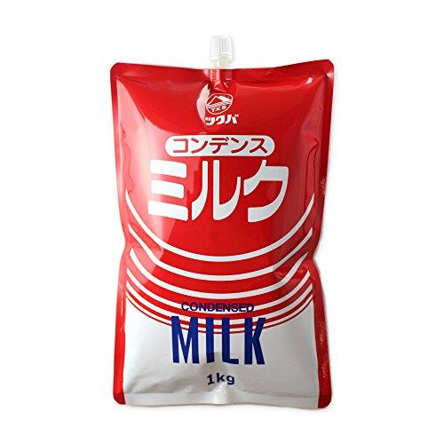 【お一人様1個まで】コンデンスミルク 練乳 筑波乳業 1kg__
