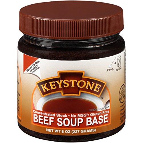 Keystone Meats Soup Base, Beef, 8 Ounce