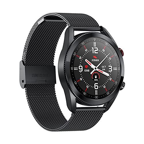 KaiLangDe Smartwatch Reloj Inteligente con Pulsómetro Cronómetros Calorías Monitor de Sueño Podómetro Monitores de Actividad Impermeable Reloj Deportivo para Android iOS Pulsera (Color : B)