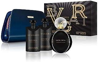 Bvlgari Goldea The Roman Night Women 4 Pc Gift Set