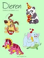 Dieren Kleurboek voor Kleuters 3 & 4