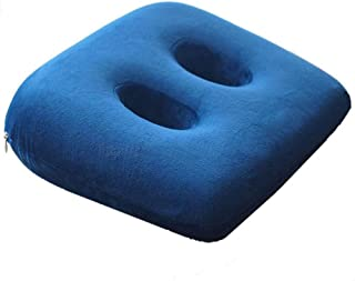 Memory Foam Sit Bone Relief Cushion for Butt, Lower Back, Hamstrings, Hips, Ischial Tuberosity for Home And Office Men And...