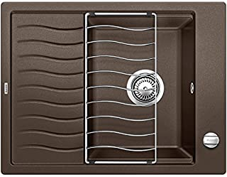 BLANCO 鉑浪高 ELON XL 6 S,廚房水槽,花崗巖水槽 SILGRANIT PuraDur,1件 Cafe 45 cm Unterschrank