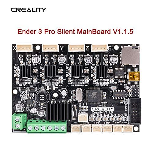 Sovol Creality Ender 3 Pro Placa base silenciosa V4.2.7(V1.1.5) con controlador TMC2225 para Ender 3/Ender 3 Pro/Ender 5/Ender 5 Pro