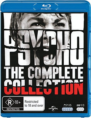 Psycho Collection Boxset (Psycho/Psycho II/Psycho III/Psycho IV/Psycho Remake/Bates Motel)