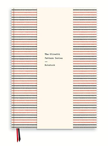 The Olivetti Pattern Series Notebook: Made by Memo