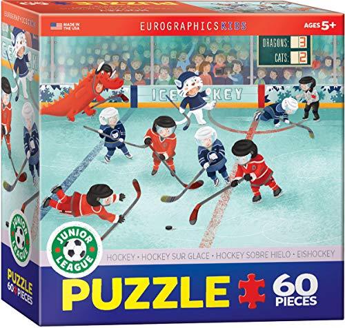 60pcs Hockey Junior League Puzzle