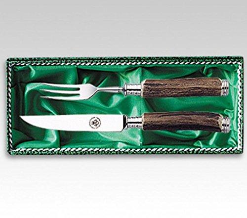 Rehwappen Solingen Linder Steakbesteck Serie 2 2-teilig