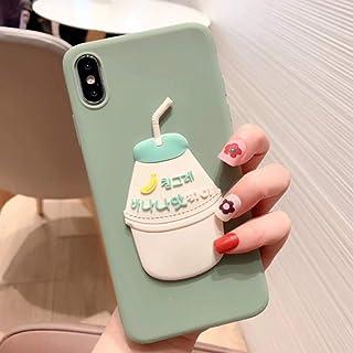 SFJUL Caja del teléfono de 3D Cajas del teléfono Lindo para iPhone X XR XS MAX