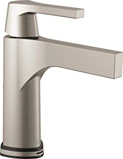 Delta Faucet 574T-SS-DST, Stainless Zura Single Handle Centerset Lavatory Faucet with Touch2O.xt Technology