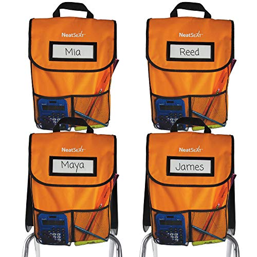 """EAI Education NeatSeat Classroom Chair Organizer 