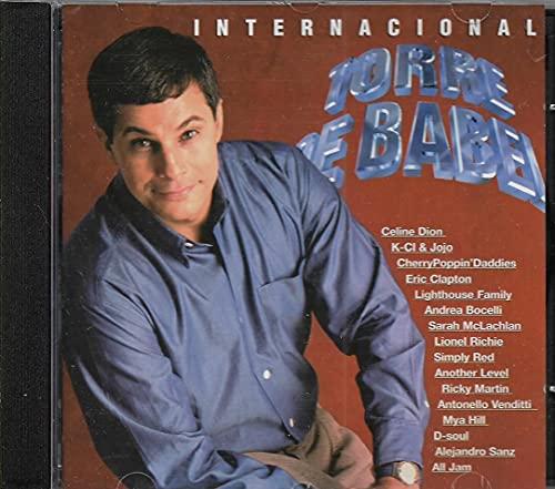 Torre de Babel - Cd Trilha Nacional Internacional - 1998