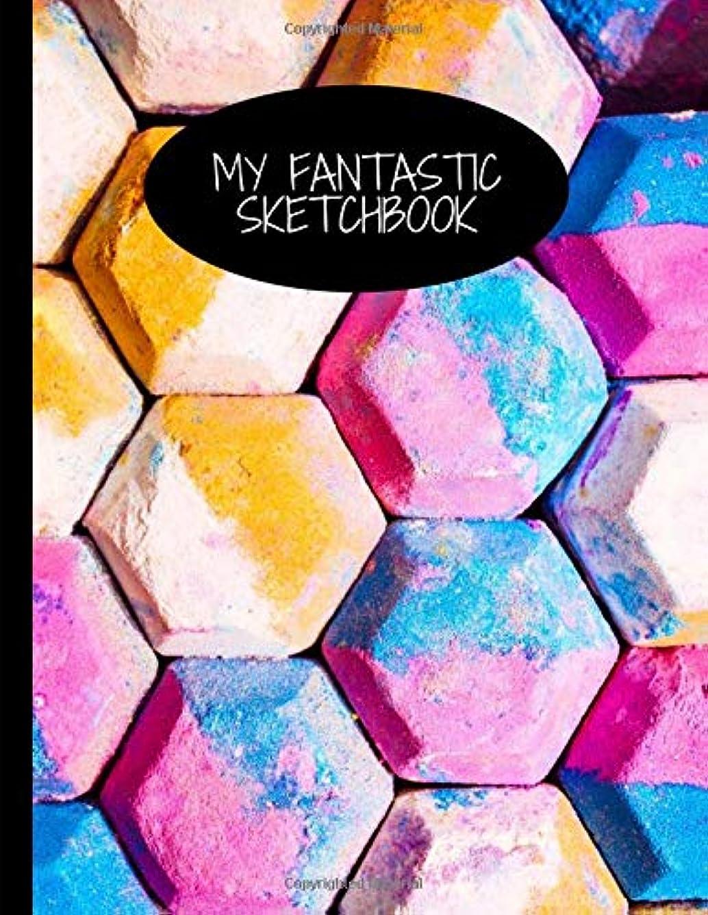 花婿正確さ十一My Fantastic Sketchbook: Chalk Art Themed Drawing Pad