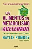 Los alimentos del metabolismo acelerado: Sana tu cuerpo, pierde peso y vive en armonía (Nutrición y dietas)