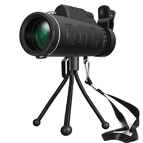 FELiCON 40 x 60 Telescopio Monocular HD Telescopio Monocular Impermeab