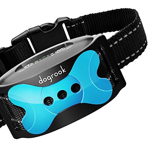 DogRook Rechargeable Dog Bark Collar - Humane, No...