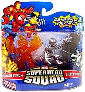 Marvel Super Hero Squad Human Torch vs. Silver Surfer