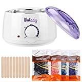 Wax Heater, Wolady Professional Waxing Kit Wax Warmer for Hair Removal with 4