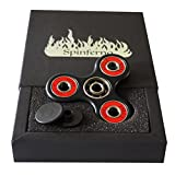 Spinferno Premium Fidget Spinner mit Hochwertiges Hybrid Si3N4 Keramik-Lager