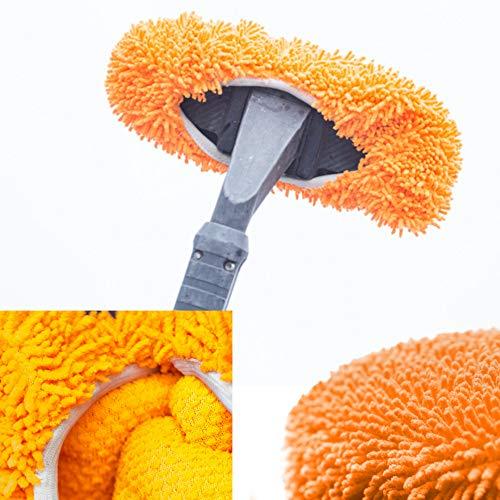 Preisvergleich Produktbild NoScratchy Brushcover Autowaschbürste Überzug - für die Autowäsche,  orange