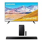 SAMSUNG 50-inch Class Crystal UHD TU-8000 Series - 4K UHD HDR Smart TV with Alexa Built-in + HW-Q60T 5.1ch Soundbar with 3D Surround Sound and Acoustic Beam (2020)