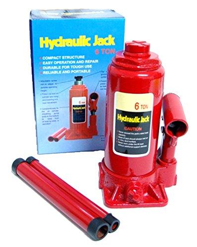Hydraulischer Wagenheber 6 Tonnen, Hubhöhe von 200mm - 390 mm