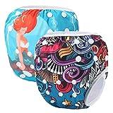 Storeofbaby Pañales para pañales de bebé reutilizables Trajes de baño para niños Clases de natación para niñas
