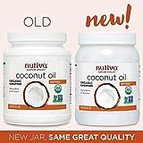 Nutiva Organic, Neutral Tasting, Steam Refined Coconut Oil from non-GMO, Sustainably Farmed...