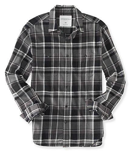 AEROPOSTALE - Camisa de bolsillo para hombre, M, 032