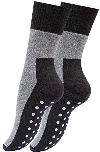 Vincent Creation® 4 pares ABS calcetines unisex – Con antideslizante suela