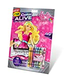 Crayola 95-1048 Color Alive Action Coloring Pages - Barbie, One Size, Multicolor
