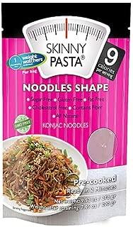 Skinny Pasta Konjac Noodles Shape Sugar Free Gluten Free Fat Free Cholesterol Free Contains Fiber All Natural 9.52 oz 1 pack