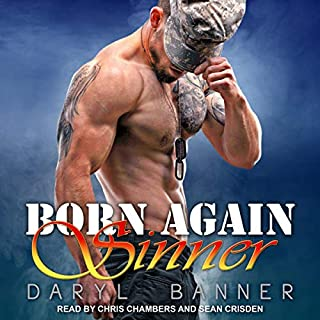 Born Again Sinner audiobook cover art