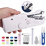 Mini Sewing Machine, Handheld Stitch Machine Portable Sewing Machine with Extra Sewing Accessaries