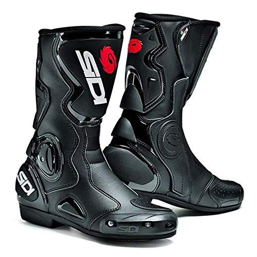 Sidi B-2 Race Boots - schwarz-schwarz: Größe Stiefel: 37