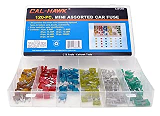 Cal-Hawk CAPCFM Assorted Car Truck Mini Fuse 5,7.5,10,15,20,25,30 Amp (B0045K2Q9Y)   Amazon price tracker / tracking, Amazon price history charts, Amazon price watches, Amazon price drop alerts