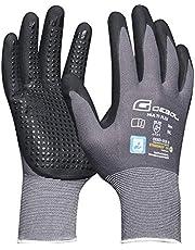 Gebol 528920 Rękawica Robocza Multi-Flex, Czarny/Szary, L