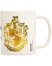 Kaffekopp Hufflepuff Stencil Crest