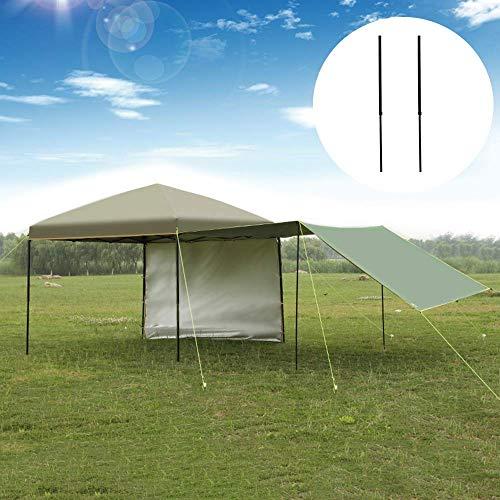 LXYZ Garden Parasol, 10 pies x 10 pies pop-up tienda de campaña instantánea Shelter, con 1 pared / 1 cortina epitaxie / clavos de suelo / cuerda de viento / bolsa de almacenamiento