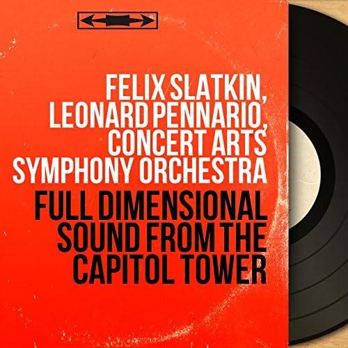 Felix Slatkin, Leonard Pennario, Concert Arts Symphony Orchestra