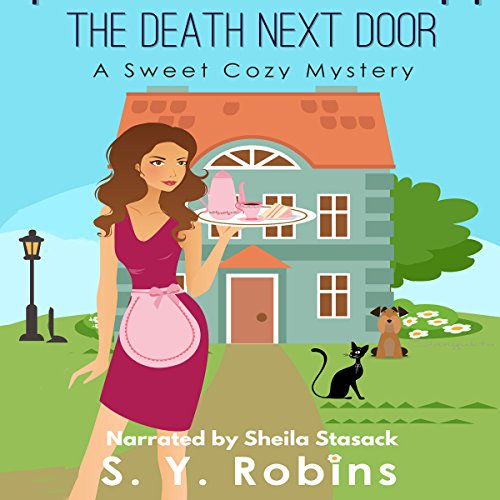 Cozy Mystery: The Death Next Door audiobook cover art