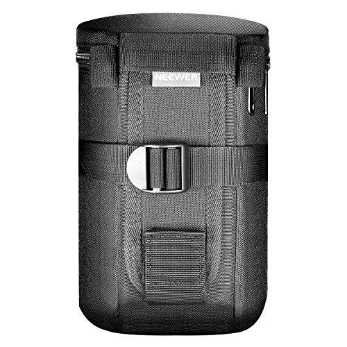 Neewer NW-L2040 Negro Acolchado Agua Resistente Bolsa de Lente para 18-300mm Lente, como Canon 100mm 70-300lS 75-300 and Nikon 55-300 28-300 105VR 70-300